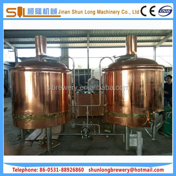 high efficiency malt mill with low power 500l beer brewing equipment with semi automatic micro beer brewing equipment