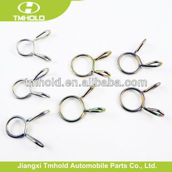 mini single wire bending hose clips clamps