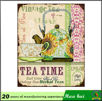 Teapot repro metal signs, teapot repro picture , tea bar signs c132