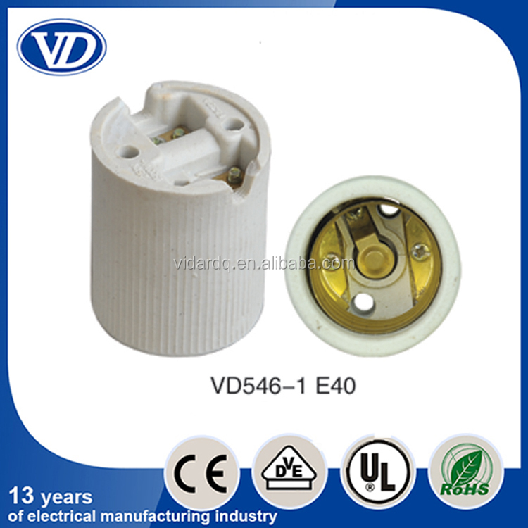 E40 porcelain lamp socket VD546-1