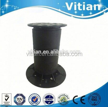 110mm height adjustable floor pedestal from vitian