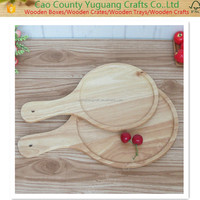 Hot Pizza shape Bamboo cutting Board & serving tray, cheese chopping block