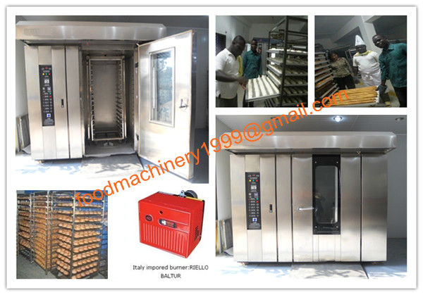 stainless steel gas baking oven