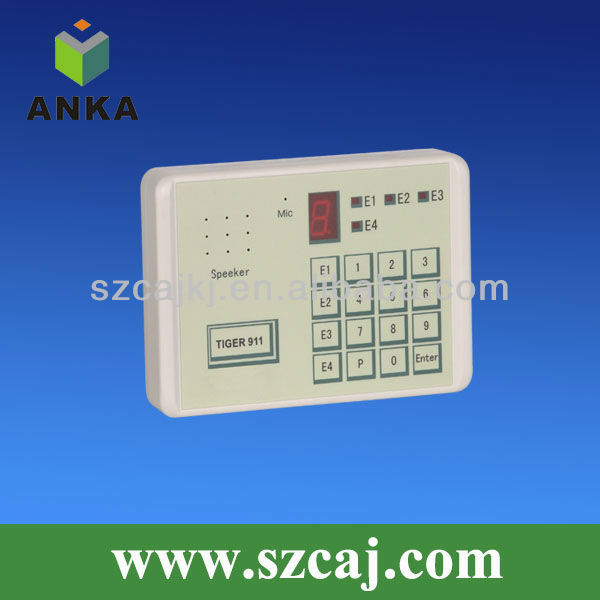 Home safety wired alarm auto dialer