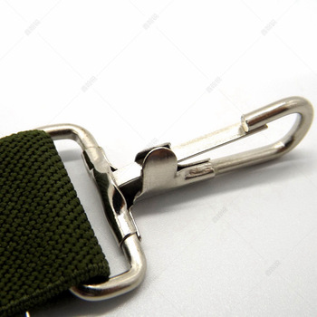 High quality Bag and Strap hardware nickel fixed snap hook