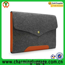 2016 funky custom printing china supplier wholesale wool felt laptop sleeve bag for ipad