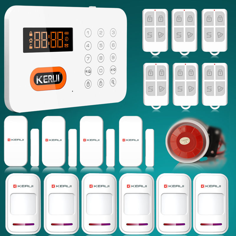 2017 Kerui PSTN Intruder Home Security Alarm System In Apartment