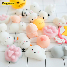 Lovely Cute Eco-friendly Stretch Seal Penis Mochi Mini Animal Slow Rising Squishy Toys