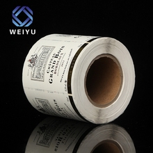 High Quality Disposable Customized Logo Adhesive Label Sticker Paper