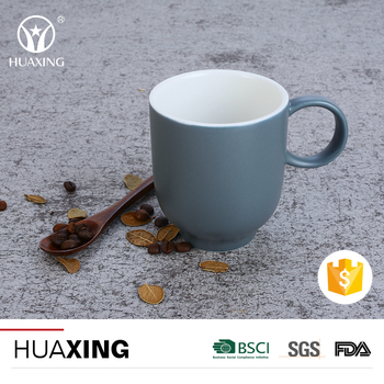 professional high grade sublimation ceramic tea milk porcelain mug with handle
