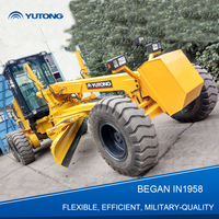 China Yellow Military Quality Small Motor Grader For Sale