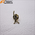 Hot sale person metal lapel pin with butterfly backside