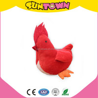 plush red rooster toy stuffed animal