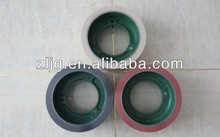 6'' yellow rice huller rubber roller in machinery
