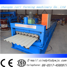 corrugated roll forming machine/corrugated iron roller