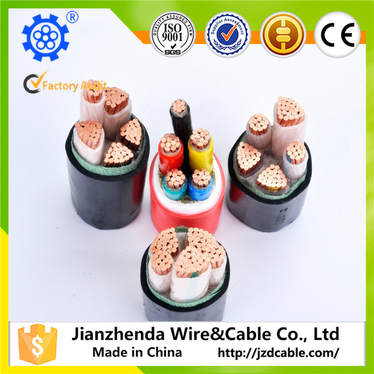 Ce certificated xlpe/pvc/rubber/pe/paper insulated power cable