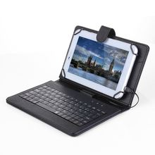 Folding Foldable Folio Magnetic PU Leather Case Cover Stand Holder with Keyboard Stylus Pen for Android 7/8 Inch Tablet