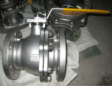 Stainless Steel Flange type 2piece Ball Valve, ANSI B16.10-1992