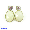 latest factory price about turquoise jewelry of charm earrings making for fashion women