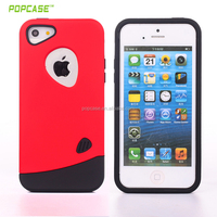 hot Sale Hybrid Full Cover PC TPU good price case for iphone 5se
