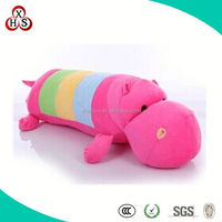 2015 Hot Sale Cute Christmas Gift Plush Hippo For Wholesale