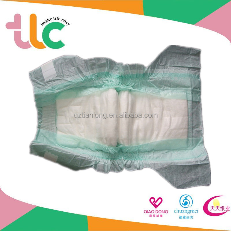 cotton soft nonwoven topsheet cheap price disposable baby diaper