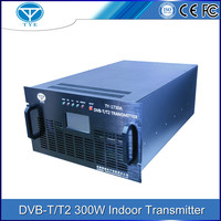 TY-1730A euro-standard DVB-T/T2 300w indoor UHF digital tv transmitter terrestrial signal receiver
