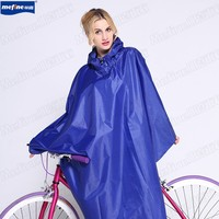 OEM factory 100% polyester bicycle rain poncho for outdoor and workplace