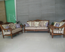 Custom Wooden Royal Furniture Sofa Set,Traditional Style Sofa Victorian