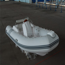 3.3m fiberglass rigid inflatable boats speed sport military inflatable boat