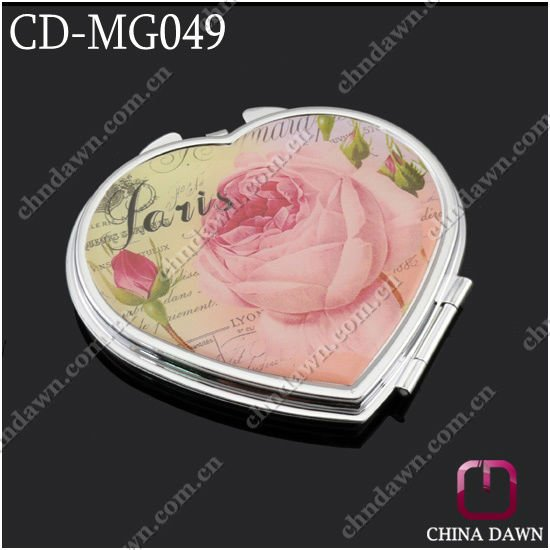 valentine's day heart shaped gift mirror CD-MG049
