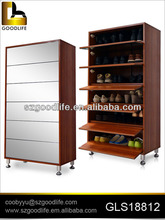 bedroom sets made in china hot sale wooden shoe rack
