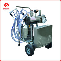 New arrival CE approved automatic small goat/cow milking machine price