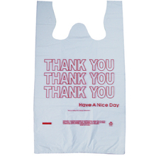 T shirt shopping bag with smail face