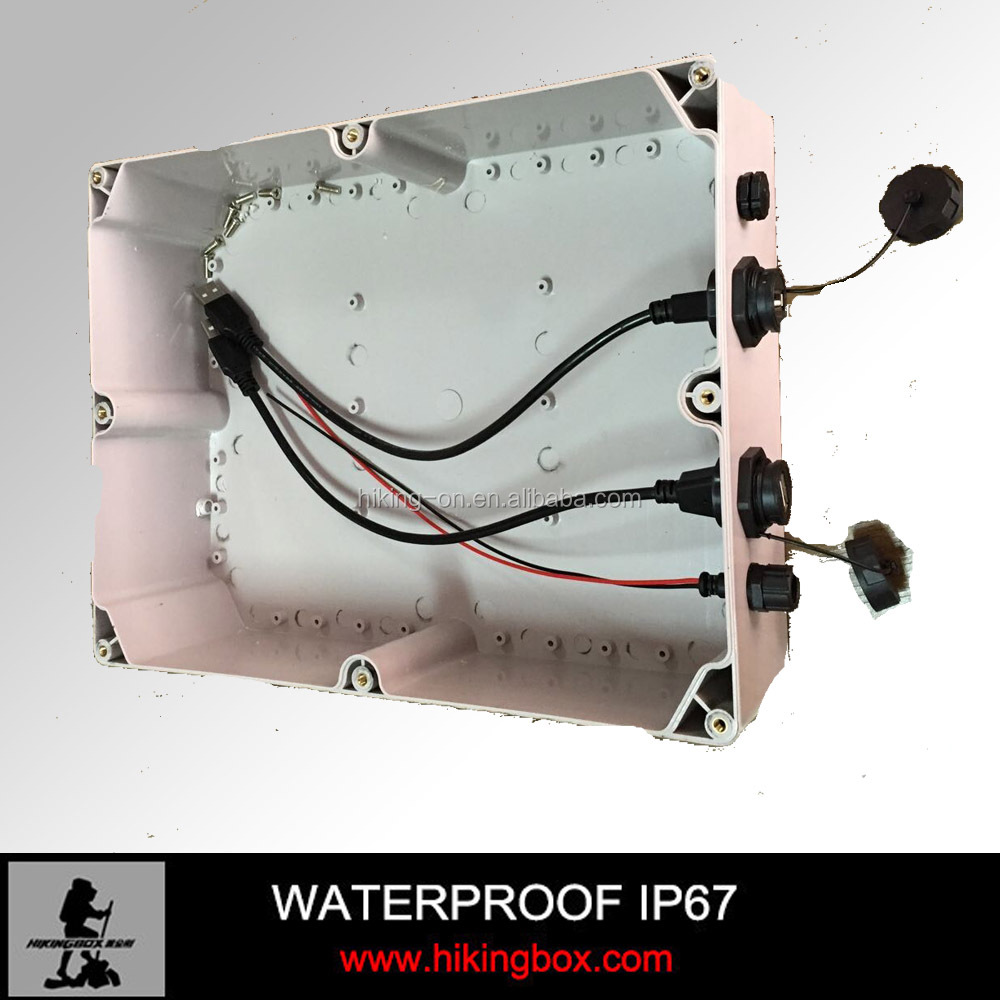 IP67 plastic waterproof electrical junction box