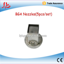 hot sales!!!!!!!!!!!New Arrival bga hot air nozzles(5pcs/set),high performance and best price bga accessory, Hot!!