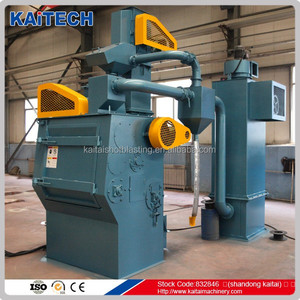 Rubber Belt Shot Blast Machine for Cleaning Aluminium Parts