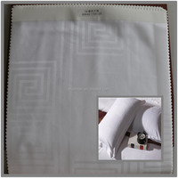 high quality cotton fabric for star hotel bedding