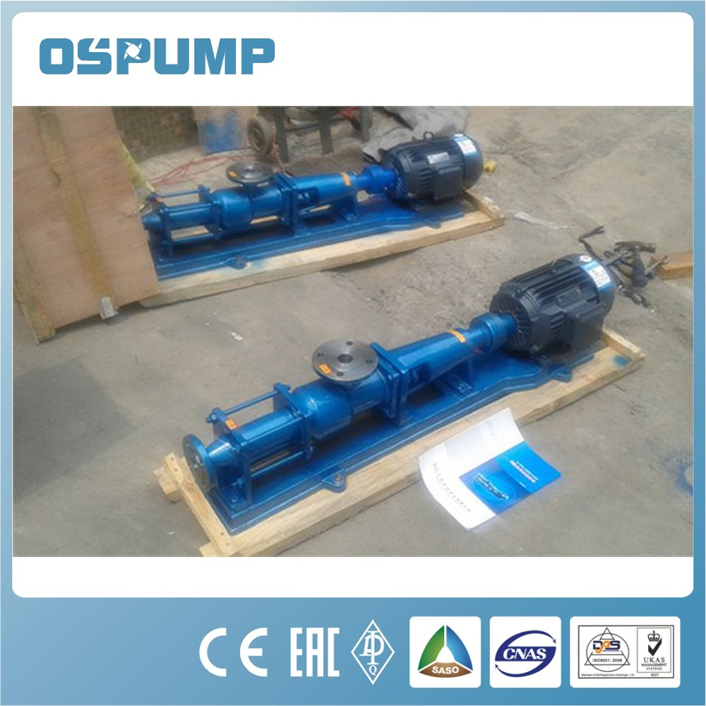 G stainless steel sanitary screw pump tomato sauce pump