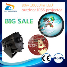 Promotion big sale gobo light 80W LED waterproof IP65 liquid light projector for sale