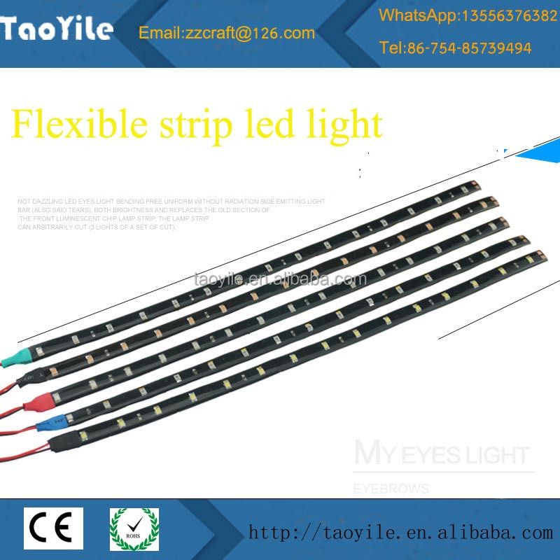 Low price high quality auto parts flexible led car interior neon light