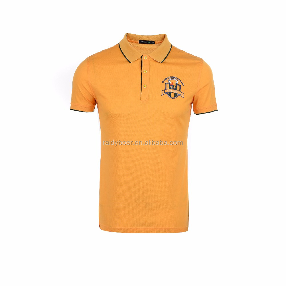 mens high quality new design pique cotton softtextile polo t shirt