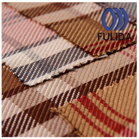 Q5995 Rove/Thick dyed yarn checked flannal fabric for bags/carpets/women dress
