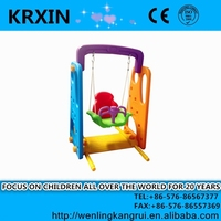 outdoor PE High Quality Plastic colorful kids Swings