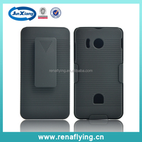 Plastic holster combo case for huawei ascend y300