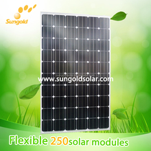 High quality and efficient solar panels