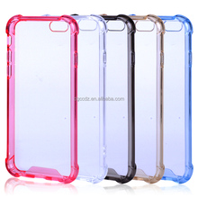 Wholesale back case for iphone 6 transparent tpu / 4.7 inch silicon PC TPU Case /bulk cheap Mobile TPU PC Case