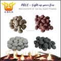 24pcs/set Cheap Ceramic Cobble Stones Fibre Replacement Stones Promotion