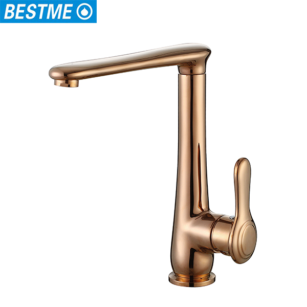 Bestme new design single lever handle brass faucet display stand