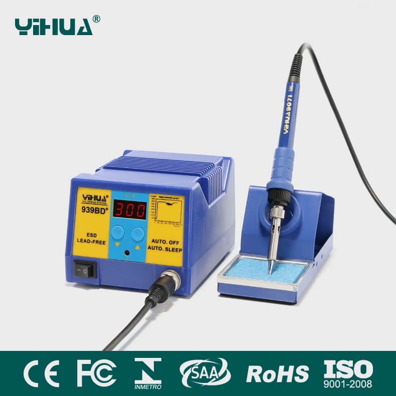 YIHUA 939BD+ soldering station for galaxy mibile motherboard repairs